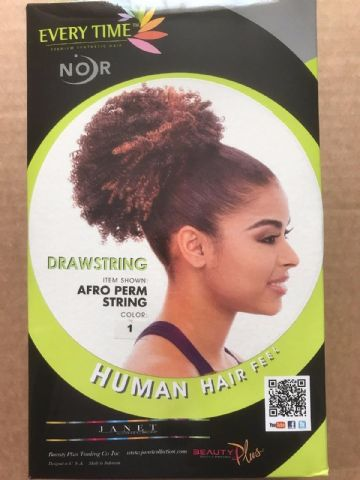 AFRO PERM STRING - JANET COLLECTION DRAWSTRING PONYTAIL